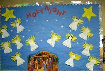 Christmas at nursery / Nativity