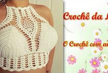 peças de croche