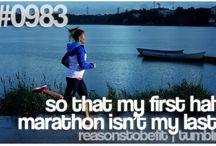 Half marathon / by Kristen Purdy