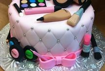 make up, fashion cake