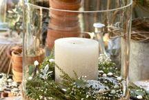 vazen voor kerst