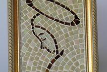quadro N.Sra. Mosaico