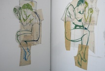 2nd Year Work / Work from my first official year of printmaking. 2010-11