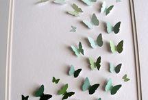 Cards - Bird / Butterfly