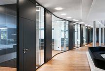 Partition Walls / feco Systemtrennwände für hohe gestalterische und bauphysikalische Anforderungen.