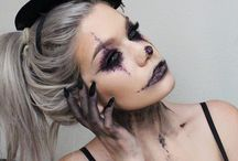 Halloween Ideas / Demon costumes and makeup