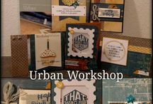 Urban papers cards