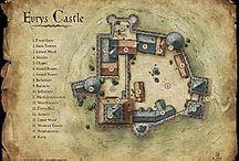 Castle maps rpg