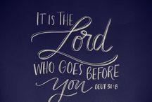 Bible Journaling- {Deuteronomy / by Lindsey Z.