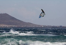 Surf, windsurf, ocean