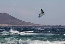Surf, windsurf, ocean