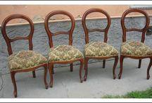 sedie restaurate