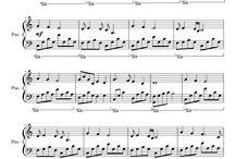 Amy's Sheet Music