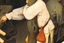 Bruegel, The Dutch Proverbs / Details from The Dutch Proverbs