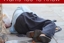 About Homelessness / This board is for articles or photos that create awareness about homelessness