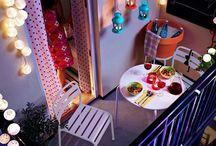 Inspirações Casa - Mini varandas