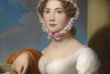 Regency/Empire Art / contemporary images created between 1790 to 1830