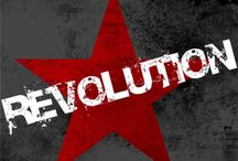 Revolution / A história se move no fogo das revoluções... As revoluções tem ocorrido durante a História da Humanidade e variam muito em termos de métodos, duração e motivação ideológicas...
