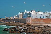 The seaside town of Essaouira, Morocco.