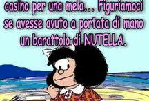 Mafalda e Snoopy