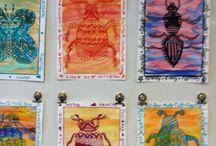 Art lesson ideas 4B