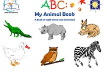 ABC: My Animal Book (eBook) / ABC: My Animal Book (eBook). Little Tots Learning presents this wonderful eBook which includes all twenty-six letters of the alphabet and an animal for each one. STUNNING illustrations add just the right amount of fun, while the text will surely provide entertainment and education to a wide range of readers.  This eBook is available on Teacher Pay Teachers and Amazon Kindle.