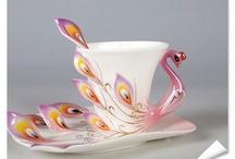 lelijke thee kopjes