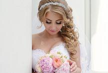 vintage Hårpynt til bruden /  vintage hair ornaments for the bride