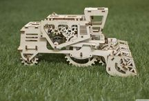 Puzzles / Ugears wooden puzzles, or anything tricky we find over the Internet