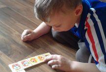 Učení s Adím 2 / Učení s mým postřiženým synem, nápady a různé pomůcky a výrobky