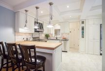 CD³ Inc - Elegant Traditional Kitchen & Dining Room Renovation / Coleman-Dias³ Construction Inc - 1940's Colonial Revival Kitchen & Dining Room Renovation / by Coleman-Dias³ Construction