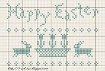 cross Stitch - Easter