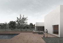 Piano House / The House as a place to live and grow. This single family house developed in two floors, responds to needs of a couple with two dogs in the surroundings of Valencia. A flexible space that seeks light and utilization of outer space blurring the boundaries between the House and its surroundings.