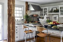 RUSTIC COUNTRY KITCHEN DECORATING IDEAS / Inspiring Country Kitchen Decorating Ideas