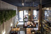 Clubs restaurants decoration