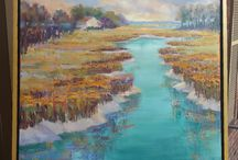 Coastal Art / Coastal art inspired by the beaches and marshes we love to look at and dream to live by