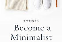 MINIMALISM | style