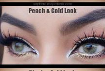 nádherné oči