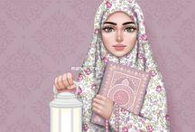 animasi hijab