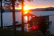 Sunsets On The Lake / by Brooke Danielle
