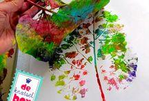 DIY in de herfst / Lekker knutselen met je kinderen in de herfst.