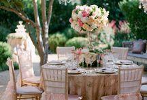 Jolies décorations mariage