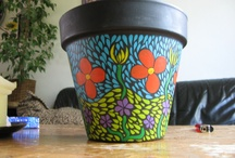 Pots and Paint / My own creations