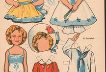 Påklædningsdukker Til Print