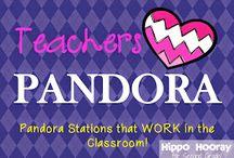 Pandora Classroom Music / by Jody Kolquist