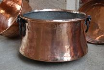 Antique Copper and Brass from England & France
