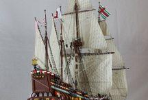 Lego sea ships