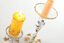 Beaded candle holders / by GAMI K