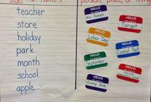 Grammar / Ideas for teaching grammar in the elementary classroom