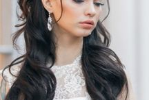 Wedding makeup & hairstyle